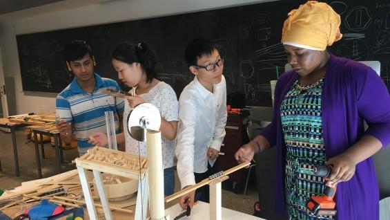 Students in the Summer STEM program. Photo: Angela Starita