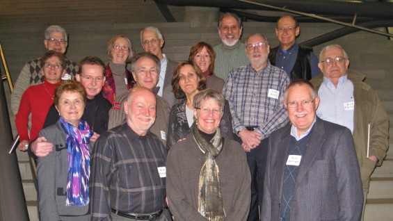 Members of the Physics Class of 1967 and their families