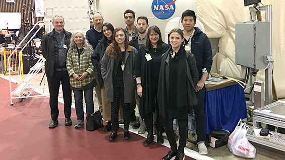 Pratt X-HAB 2017 at NASA Langley Research Center for Checkpoint Review and Lab Tour, March 2017