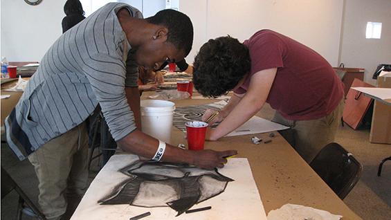 Pre College Summer Art Program Drawing Class