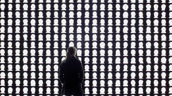 'The Geometry of Conscience' by Alfredo Jaar. Photo by Cristobal Palma