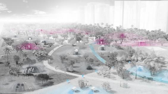 Jade Ecopark, Taichung, Taiwan, Philippe Rahm architectes, Mosbach paysagistes, Ricky Liu & Associates, 2012-2015