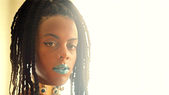 Juliana Huxtable. Photo by Petra Collins