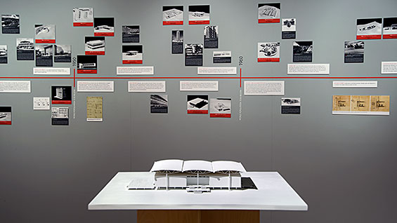 Lessons from Modernism installation view. Photo by Pat McElnea<br><br>