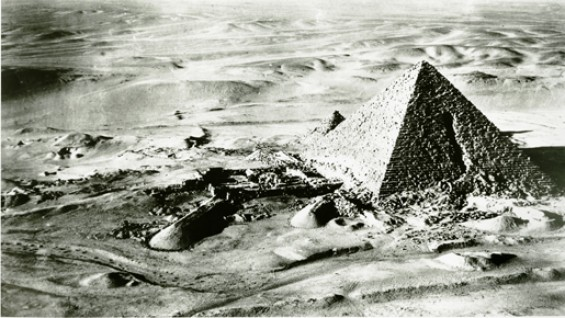 Pyramid of Menkaure. Giza, Egypt. c. 26th Century BC.