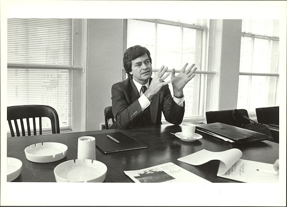 President Bill N. Lacy. Image from the Cooper Union Archives and Special Collections.