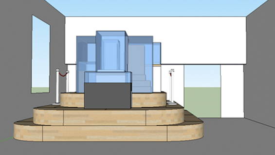 "Lan Tuazon, Rendering of ""Monument to Museum Preservation and Collection"", 2011."