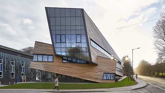 Studio Libeskind, Ogden Center for Fundamental Physics at Durham University, Durham, United Kingdom, 2016. Image Courtesy of Hufton+Crow.