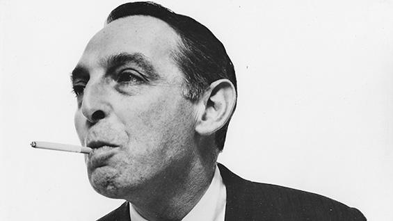 Herb Lubalin. Photo courtesy the Lubalin family