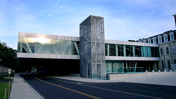 Architect: OMA with KHA Architects. Milstein Hall, Cornell University, Ithaca, NY. Photo Credit: Silman, 2011.