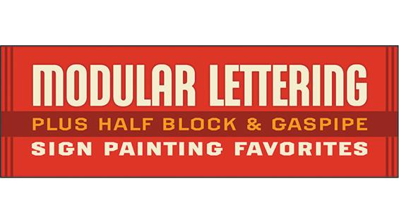 Modular Lettering Class New York