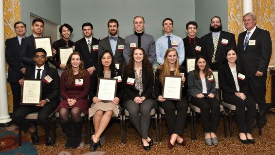 2018 The Moles Student Award Recipients