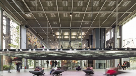 Musings on a Glass Box, Fondation Cartier, Paris, France, 2014-15. Photo: Luc Boegly