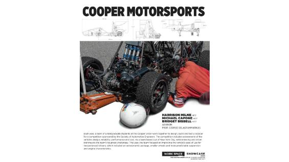 [STUDENT POSTER] COOPER MOTORSPORTS