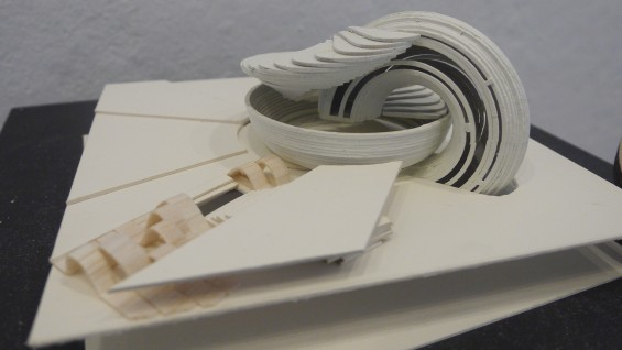 Introduction to Architecture, student work, summer 2014