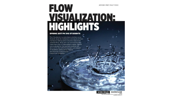[STUDENT POSTER] FLOW VISUALIZATION: HIGHLIGHTS