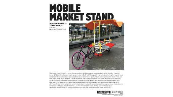 [STUDENT POSTER] MOBILE MARKET STAND