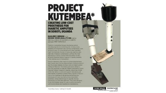 [STUDENT POSTER] PROJECT KUTEMBEA
