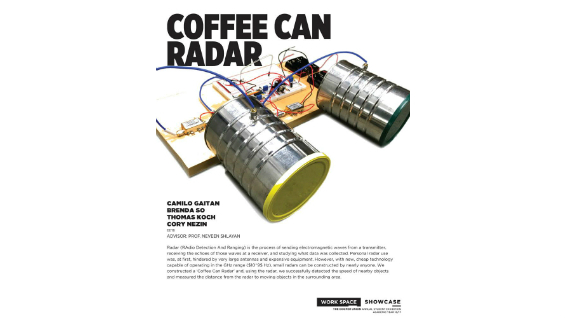 [STUDENT POSTER] COFFEE CAN RADAR