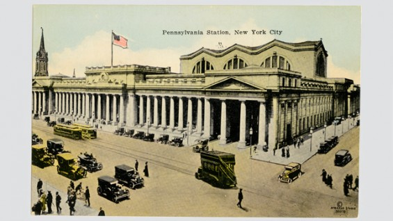 Pennsylvania Station.