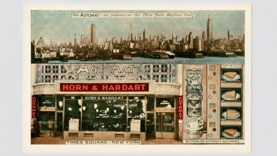 Horn & Hardart Automat - Times Square.