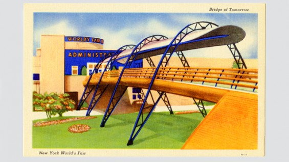Bridge of Tomorrow - 1939 New York World's Fair.