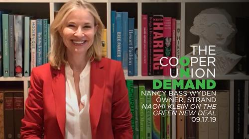 Cooper on Demand Presents Naomi Klein