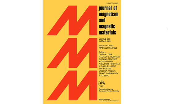 Figure 2: Journal of Magnetism and Magnetic Materials March 2021, Volume 522