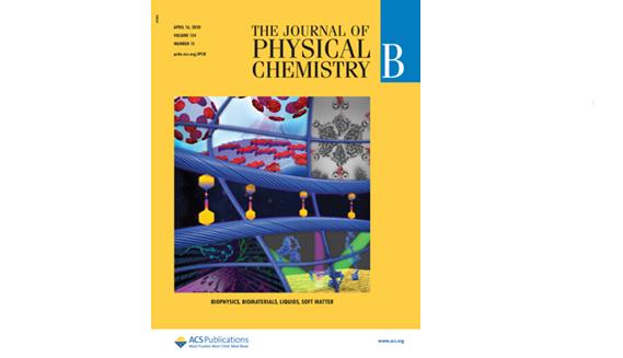Imgae: Hardcover of the 2020 Journal of Physical Chemistry B.