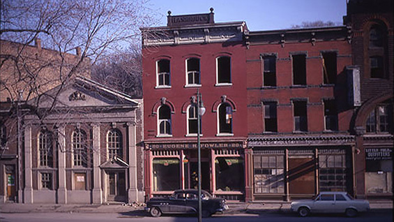 The Rondout National Bank. Photos by Gene Dauner
