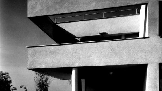 Ladislav Žák—Family House at the BABA Wewrkbund estate, Prague 1932