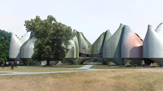 Young & Ayata - Vessel Collective Bauhaus Museum Park view