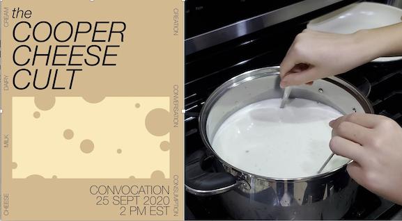 Beautiful graphic design + cheese making = irresistible formula