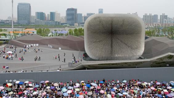 UK Pavilion World Expo 2010, Shanghai, China – copyright Wolfgang Stuppy