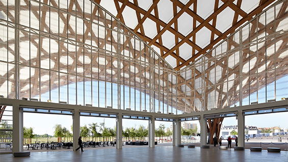 Centre Pompidou-Metz, 2010, France. Photo by Didier Boy de la Tour