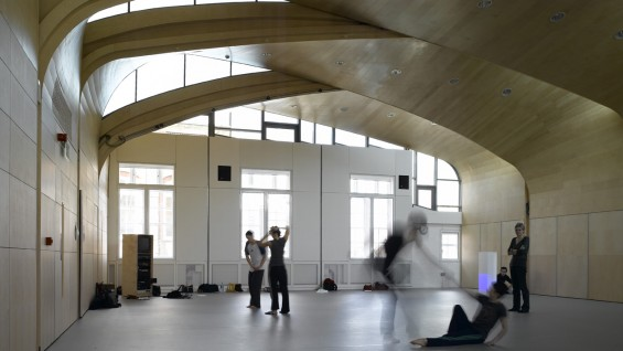 SWA—Siobhan Davies Dance Studios | photo: Richard Bryant/Arcaid