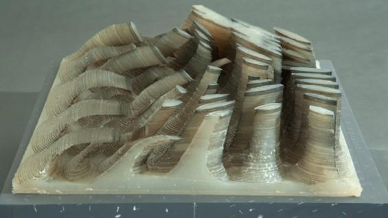 Explorations in Material Geometry - Rolando Vega, 2012