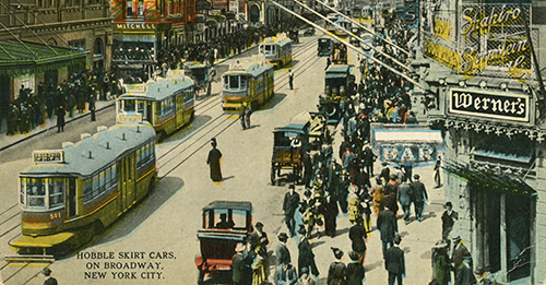 Online Exhibition | Views Along Broadway