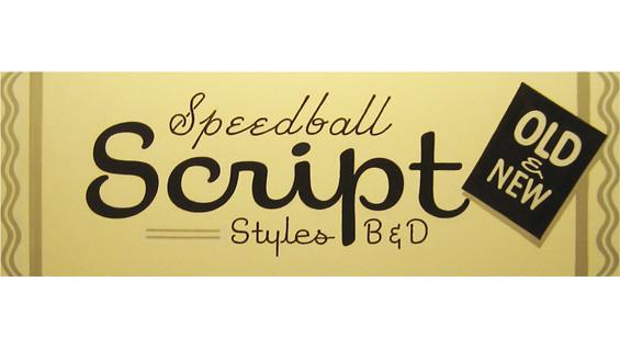 Speedball Script Styles