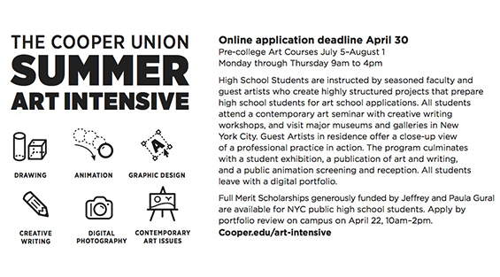 college creative writing summer programs
