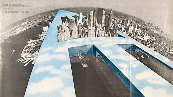 Superstudio, 'New-New York,' 1969