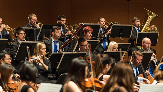 The Orchestra Now at the Fisher Center at Bard College. Photo by Matt Dine