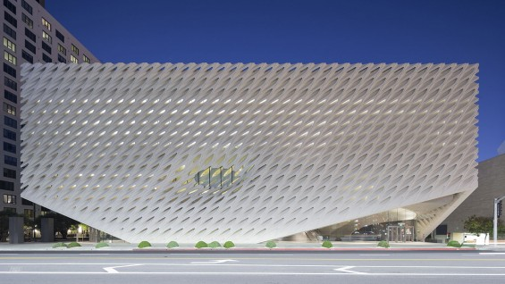 The Broad Museum, Photo by Iwan Baan