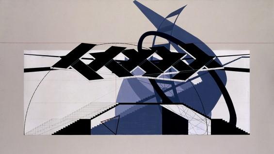 USSR Pavilion, Konstantin Melnikov; Charles Krekelberg, Design III Spring 1994