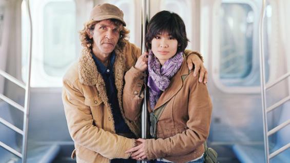 Alfredo and Jessica, 2011, New York, New York - Touching Strangers.