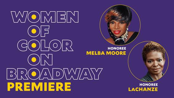 Women of Color on Broadway premiere logo