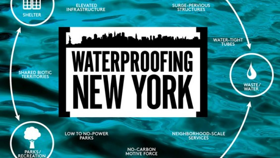 Waterproofing New York diagram