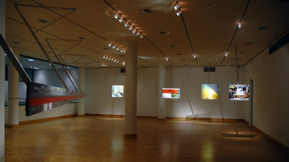 Two Journeys: Work by Michael Webb. January 2008.
