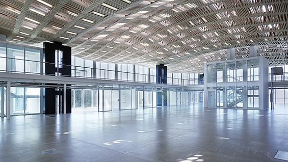 Gramazio Kohler Research: Sequential Roof, 2016, ITA Arch_Tech_Lab, ETH Zurich  Photo credit: Arch-Tec-Lab AG