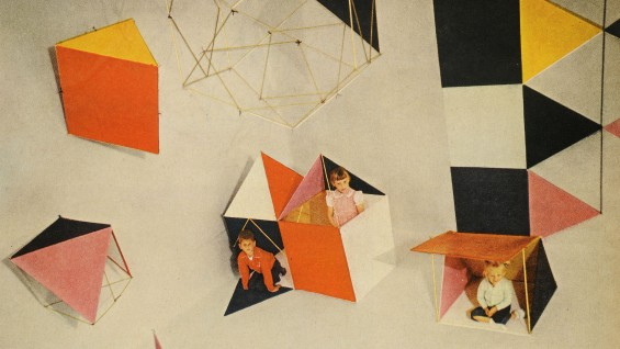 Detail: The Toy, designed by Charles and Ray Eames as it appeared in Life, July 16, 1951.